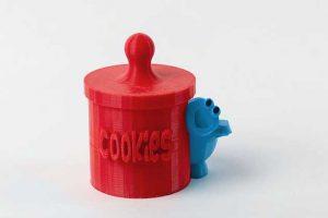 צינצנת עוגיות- הדפסה בתלת מימד