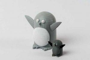 פינגווין- הדפסה בתלת מימד